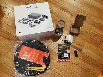 DJI Mavic Mini Fly More Combo Camera Drone - With Extras - In Hand, New in Box