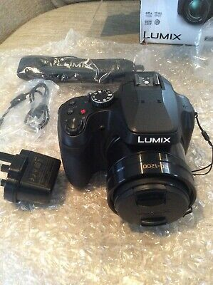 Panasonic LUMIX DC-FZ82EB-K 18MP Bridge Camera - Black