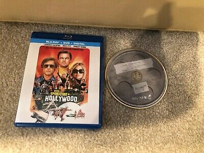 Once Upon A Time In Hollywood Bluray 1 Disc Set ( No Digital HD )