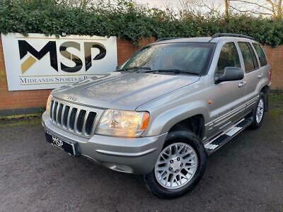 2002 Jeep Grand Cherokee 2.7 CRD Limited SUV 5dr Diesel Automatic 4x4