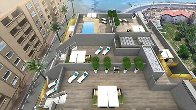 2bed, 2bath, new build, seafront apartment Torrevieja, Alicante, Costa Blanca.