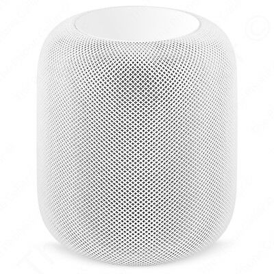 AS-IS Apple HomePod MQHV2LL/A White Home Smart Speaker Parts or Repair