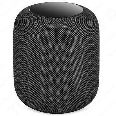 AS-IS Apple HomePod MQHW2LL/A Space Gray Home Smart Speaker Parts or Repair!