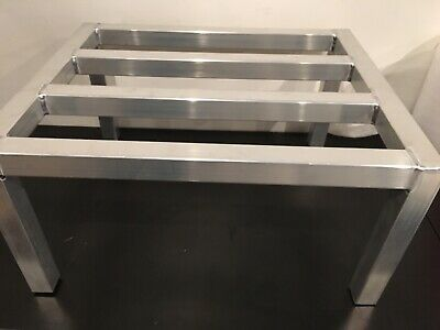 """Channel ADE2024 24"""" L X 20"""" W X 12"""" H Aluminum Dunnage Rack"""