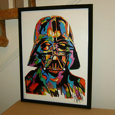 Darth Vader Star Wars Skywalker George Lucas Empire Poster Print Wall Art 18x24