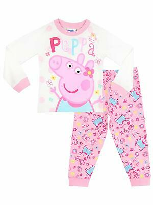 Peppa Pig Girls Pyjamas Ages 18 Months To 8 Years