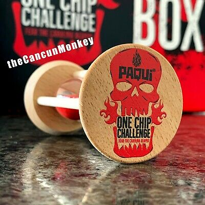 Paqui Limited Edition Hour Glass Sand Timer One Chip Challenge Carolina Reaper