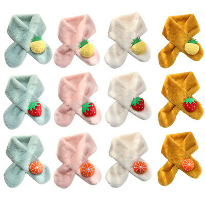 Baby Boys Girls Winter Warmer Scarfs Infant Collar Scarves Toddler Neckerchiefs
