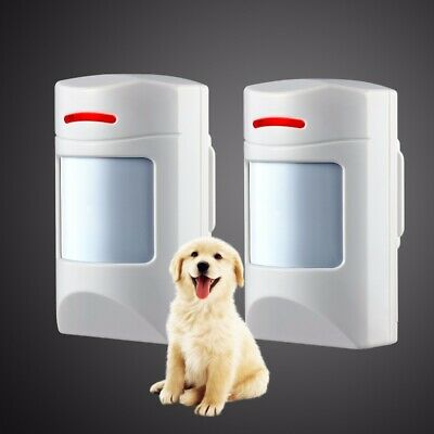 Wireless Pet-Immune PIR Detector Motion Sensor 433Mhz For Securtity Alarm System