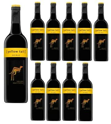 Yellow Tail Shiraz Red Wine Case (12 bottles) Fast & Free Shipping!