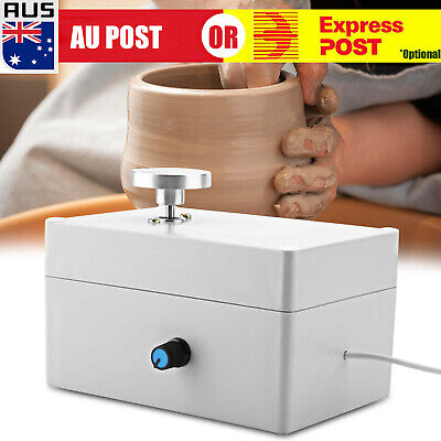 Mini Portable Electric Pottery Wheel Ceramic Machine For Work Clay Artcraft AU D