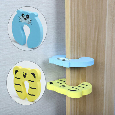 Door Stopper Cushion Guard Roll Soft Stable Gate Cling Protector