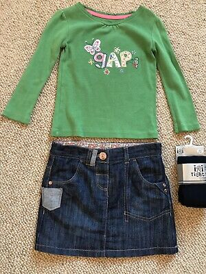 Girls Outfit Next/GAP Age 2-3 years