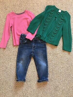 Girls Age 18-24 Months H&M And Mothercare Outfit