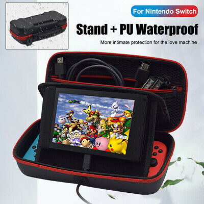 Waterproof Carrying Case Stand Hard Shell Travel Storage Bag For Nintendo Switch