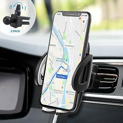 Support Telephone Smartphone Voiture Ventilation Rotation 360° GPS Universel