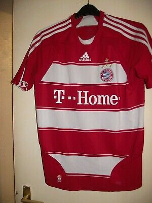 bayern munich t..home home football shirt med see discription
