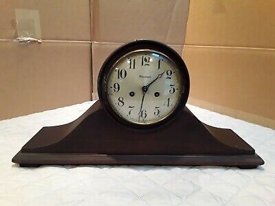 Antique  Waterbury  Chiming  Mantel Clock