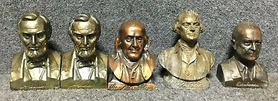 1950s Benjamin Franklin, Eisnhower, Bust and Coin Bank Franklin Life Insurance