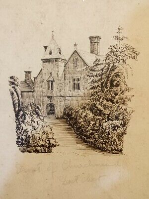 Antique early 19th century ink drawing, British school.