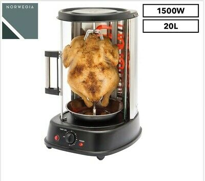 Norwegia Vertical Grill and Rotisserie