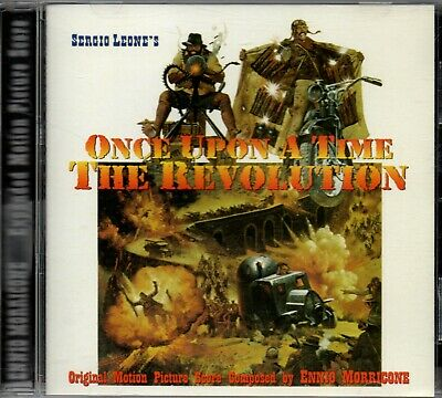 Once Upon A Time The Revolution CD Soundtrack music by Ennio Morricone