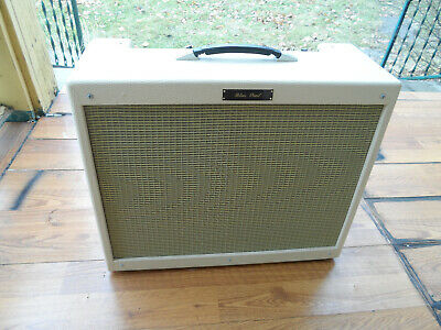 Blues Pearl Handwired 6L6 Tube Amplifier 45 wat 2X12 Alnico Combo Mint Condition