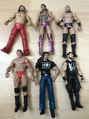 WWE Mattel Elite Basic Defining  Moments Figures Bundle