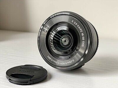 Sony SEL 16-50mm f/3.5-5.6 PZ OSS Lens E-Mount Optical Steady Shot USED