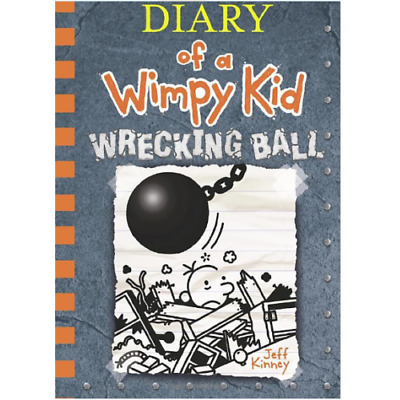 Wrecking Ball (Diary of a Wimpy Kid Book 14) - by Jeff Kinney P.D.F FRIDAY
