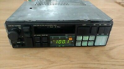 Rare vintage old school Alpine Cassette radio 7245T headunit