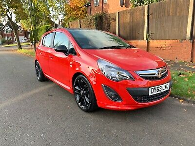 2013 Vauxhall Corsa Limited Edition Red 32k Miles 5 Door