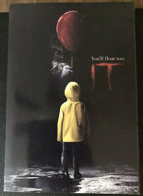"""NECA IT 7"""" Scale Pennywise Action Figure - Sealed Box - U.S. Seller Adult Owned"""
