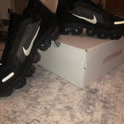 Brand NEW Nike Air Vapormax 2019 Utility Black/White Reflect Trainers UK Size 8