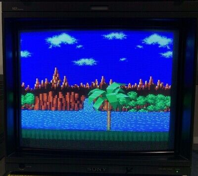 SONY BVM-20F1E 20inch Broadcast CRT Video Monitor