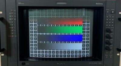 Sony BVM-D14H5A Broadcast CRT Video Monitor