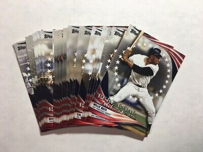 """2019 Topps Update Series """"Perennial All-Star"""" insert Cards - YOU PICK  FREE SHIP"""