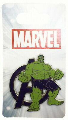 2015 Disney Marvel Avengers Incredible Hulk Pin With Packing Rare W2