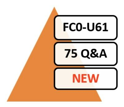 CompTIA IT Fundamentals+ Plus  FC0-U61 Exam 75 Q&A PDF Only!