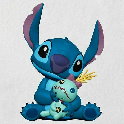 2019 Hallmark Disney Lilo & Stitch, Stitch and Scrump Christmas Ornament Friends
