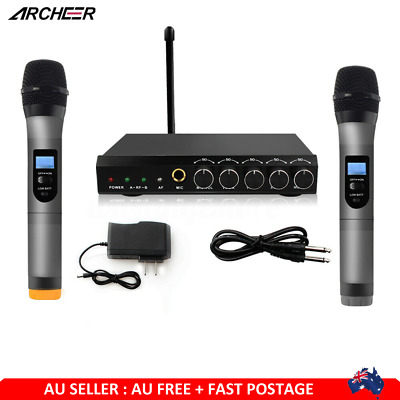 ARCHEER Wireless bluetooth4.1 Microphone Handheld System + 2 MicFor