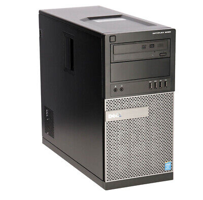 Dell Optiplex PC 7020 Tower Core i5 4590 B Stock 8 GB RAM Windows 10 Pro