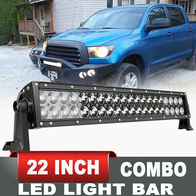 "22"" LED Light Bar Offroad Spot Flood For Jeep Wrangler/Grand Cherokee/Rubicon 24"
