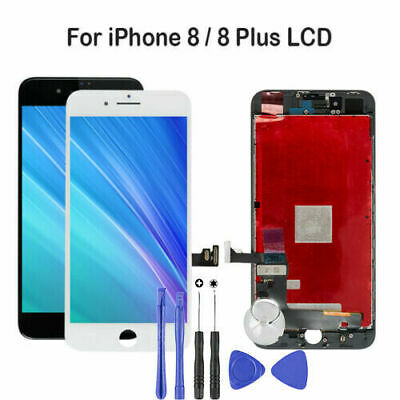 For iPhone 8 Plus 8 Screen Replacement LCD Display Touch Digitizer With Tools