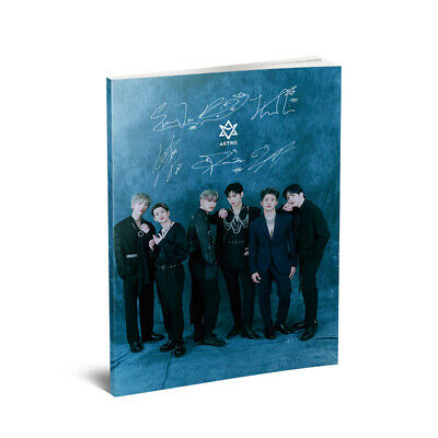 Kpop ASTRO Blue Flame Mini Photo Book Album HD Photograph Poster Fans Gifts