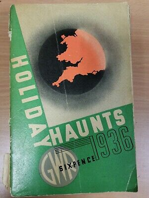 GWR (Great Western Railway) Holiday Haunts Book 1936 (Rowcroft Hospice)