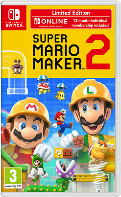 Super Mario Maker 2 Limited Edition (Switch) NEW AND SEALED - QUICK DISPATCH