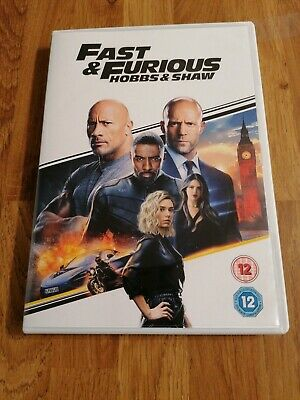 NEW but not sealed Fast & Furious Presents Hobbs & Shaw [DVD] Region 2. Uk