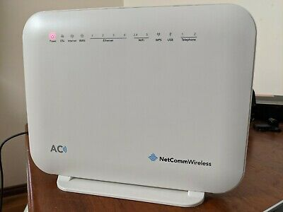 Netcomm NF18ACV AC1600 WiFi VoIP ADSL/VDSL Wireless Modem Router - NBN READY