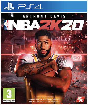 Nba 2K20 (Ps4) Brand New And Sealed - In Stock - Quick Dispatch